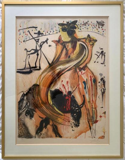 Lithographie Torero Salvador Dalí